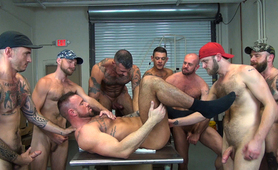 Michael Roman's Gang Bang - Part 2