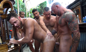 Logan Moore Gang Bang - Part 2
